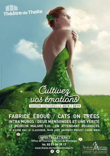 Image - Théâtre de Thalie - saison culturelle 2018-2019 - Terres de Montaigu