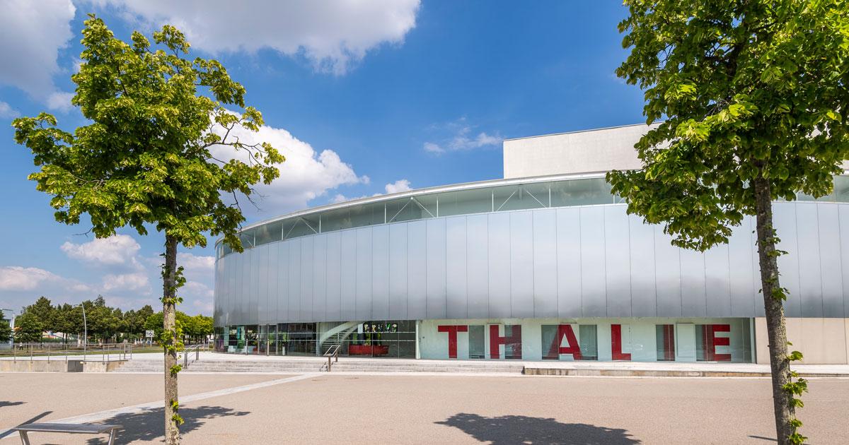 Image : Extérieur - Théâtre de Thalie - Terres de Montaigu